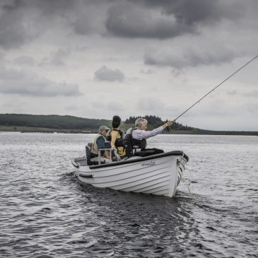 Wimbleball Fly Fishery launches new wheelchair-accessible boat for disabled anglers